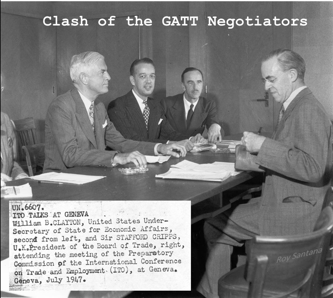 GATT 1947: How Stalin and the Marshall Plan helped to conclude the negotiations