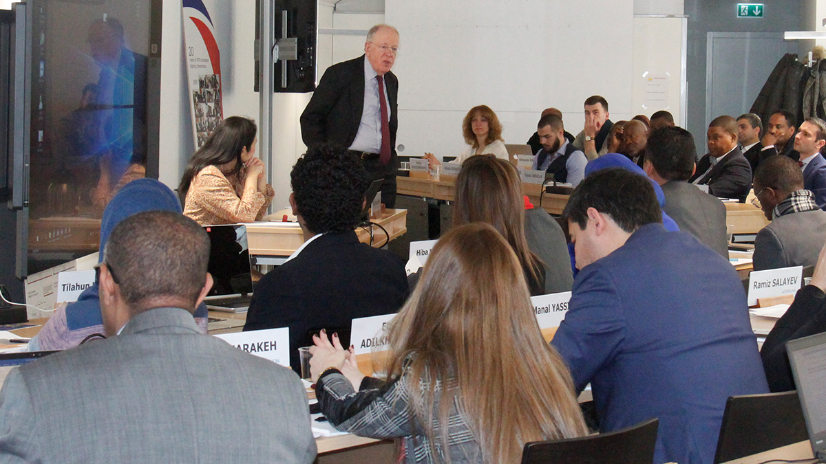 Representatives of 15 governments acceding to the WTO participate in the first seminar on accession rules Accessionseminar022019_lg