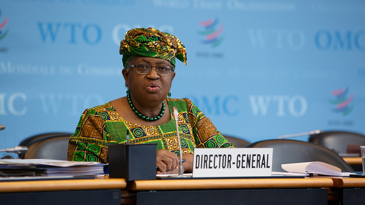 """DG Okonjo-Iweala: WTO can deliver results if members """"accept we can do things differently"""""""