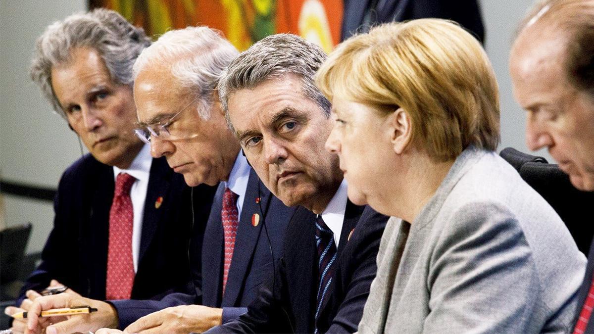 La Canciller Merkel, el Director General Azevêdo y otros jefes de organismos analizan los retos del multilateralismo