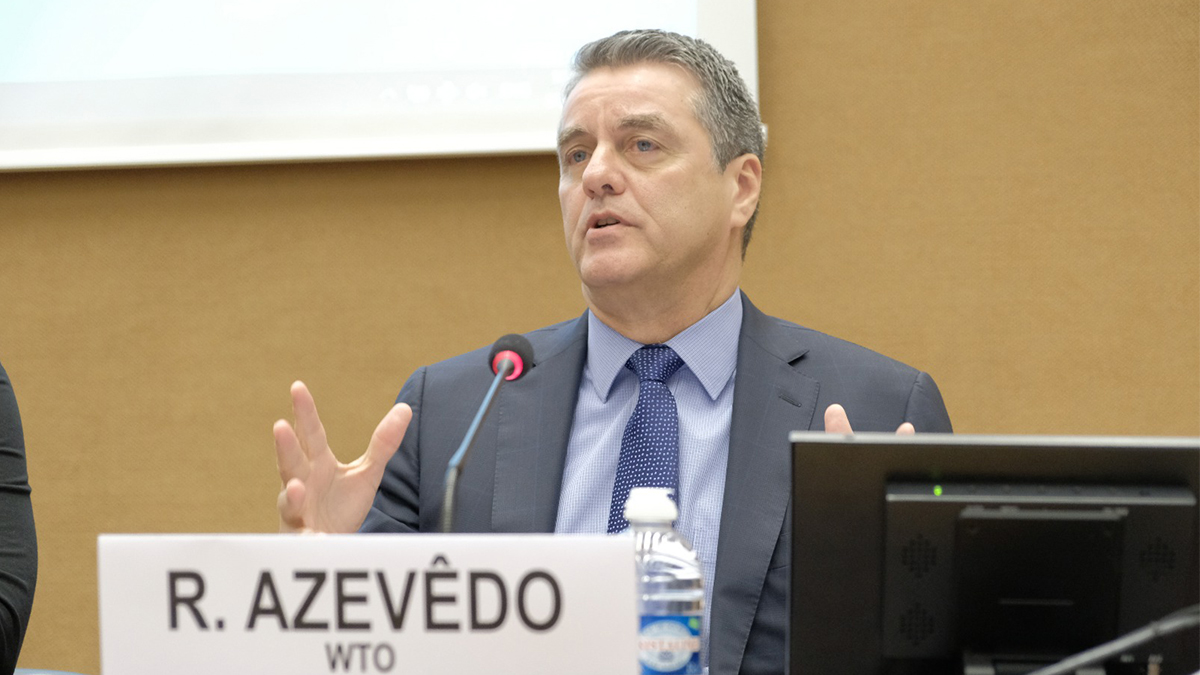 DG Azevêdo: The conversation on digital trade and e-commerce concerns us all
