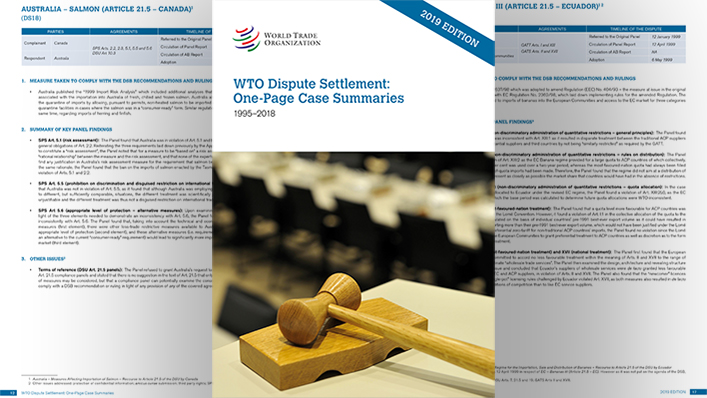 WTO | Dispute Settlement news archive
