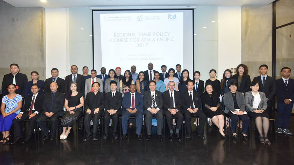 Wto 2017 News Items Regional Trade Policy Course Under Way In