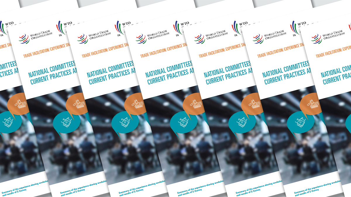 Wto 2017 News Items New Publication Shares Best Practices For