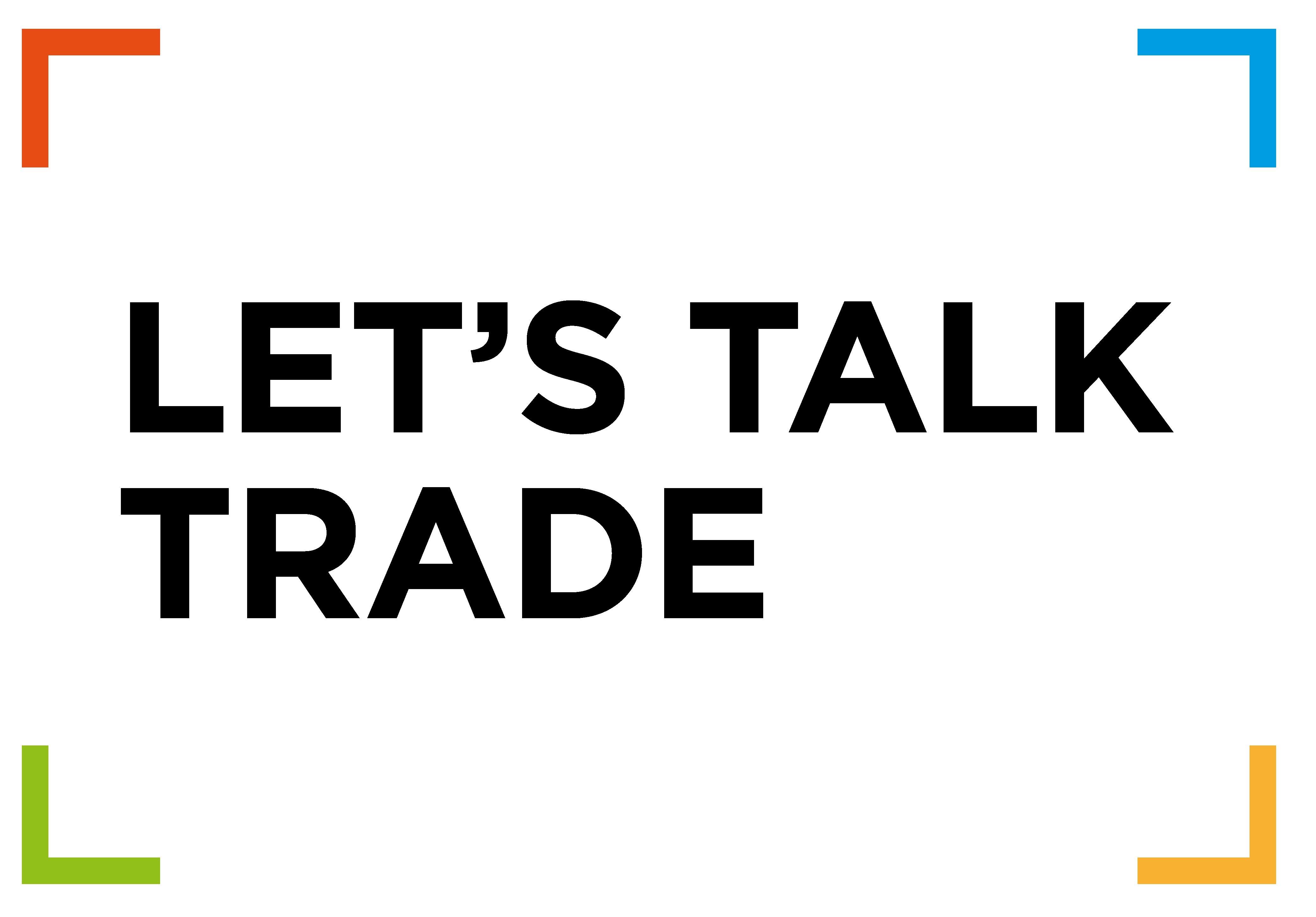 Let's talk trade Logo
