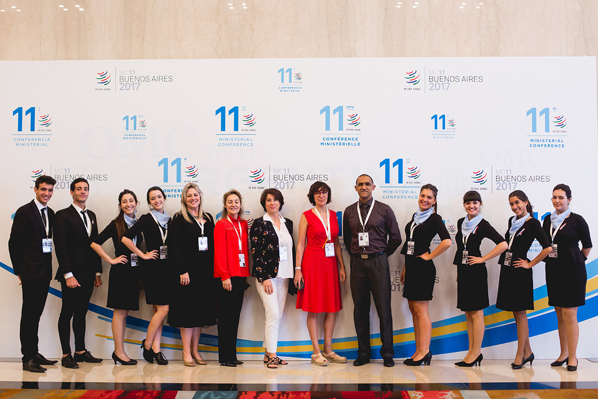 Hilton Hotel And WTO Staff