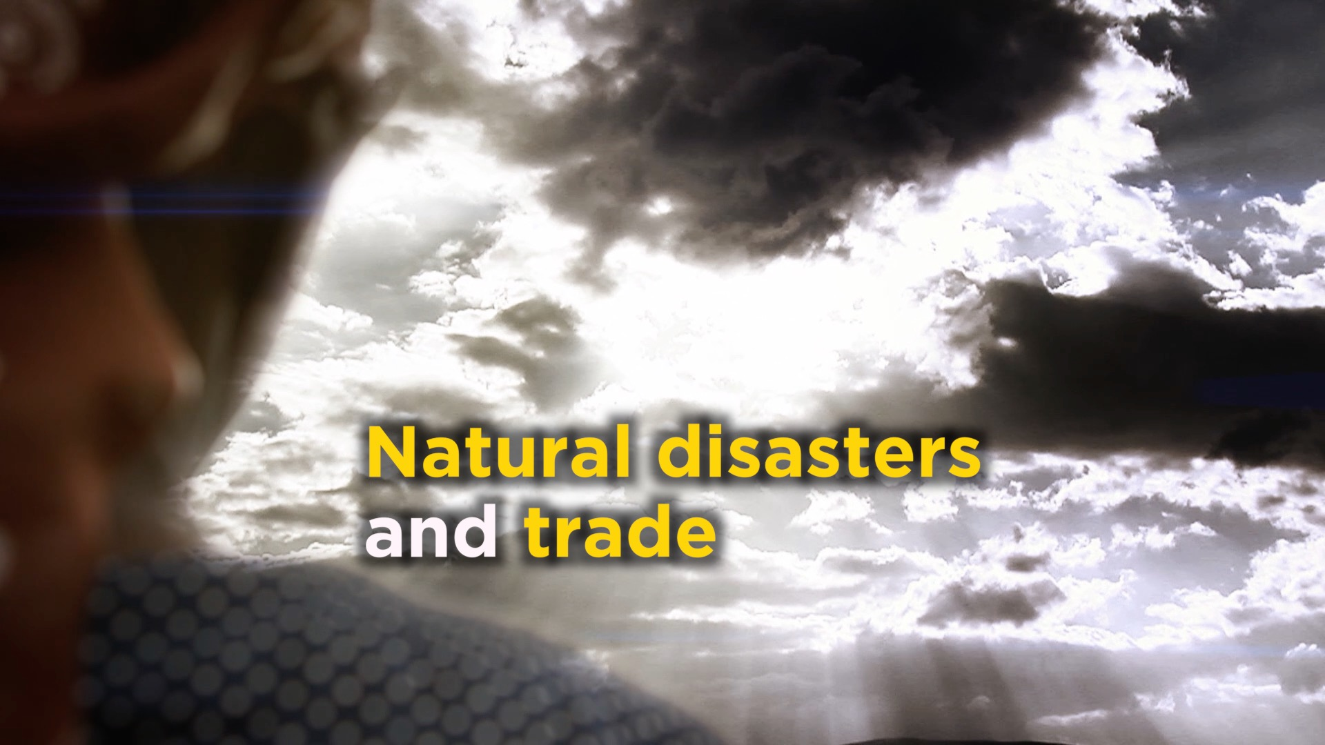 Natural disasters and trade